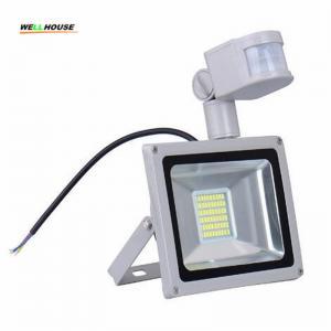 CN Ship Sensor Led Flood light outdoor lights 30W 220V 1800LM 60LED SMD5730 Floodlights For street Square Highway Wall