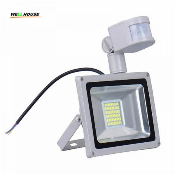 Quality CN Ship Sensor Led Flood light outdoor lights 30W 220V 1800LM 60LED SMD5730 Floodlights For street Square Highway Wall for sale