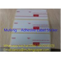 China Printed Adhesive Backed Paper Roll , Direct Thermal Transfer Labels SGS Approval wholesale