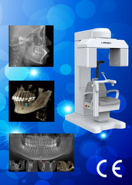 Quality HiRes3D LARGE FOV Dental CBCT / Dental X - ray Tomographic System for sale