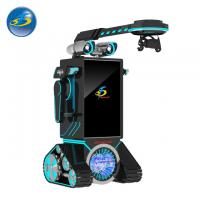 China Robot Type Automatic VR Game Machine With 50'' Touch Screen Console Display on sale