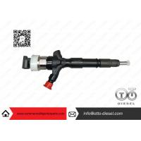 China Toyota Engine Common Rail Injector Parts Denso Diesel Injector 23670-0L050 wholesale