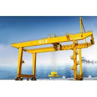 China Container Rail Mounted Gantry Crane   Lifting capacity: 400t, 100t, 130t, 100+100t Span: 18~36m on sale