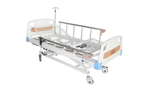 Quality Height Adjustable 3 Function Hospital Electric Beds With Aluminum Alloy Guardrail (ALS-E307) for sale