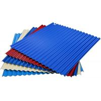China Prepainted Color Coated Corrugated Steel Roofing Sheets wholesale