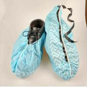 China Slip Resistance Plastic Shoe Protectors, Disposable Waterproof Shoe Covers on sale