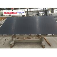 Classic Black Epoxy Resin Slabs Strong Acid Resistance For Medical Institution for sale