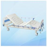 China Two Functions Adjustable Manual Hospital Bed MD-M16 with Cold Rolled Steel Frame wholesale