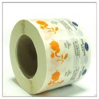 Transparent pvc adhesive sticker with glossy surface made by guangzhou factory