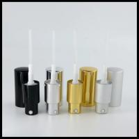 Buy cheap Cosmetic Empty Essential Oil Bottles 20/410 Fine Mist Sprayer Pump Aluminum from wholesalers