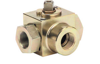 Quality 3 Way Full Bore Threaded Ends High Pressure Carbon Steel Ball Valve for sale