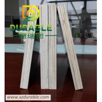 China Durable Melamine Film Faced Shuttering Plywood 18MM standard thickness plywood Black Color wholesale