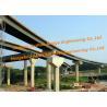 China Large Span Steel Box Girder Bridge Temporary Structural Complex Interchange Metal Frame wholesale