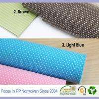 China The hotel and home furnishing non slip slipper fabric on sale