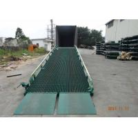 China 10 Ton Capacity Truck Lifting Mobile Yard Ramp with CE Certification wholesale