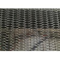 China Lightest Diamond Spiral Conveyor Wire Mesh Belt For Frozen Products And Dried Food wholesale
