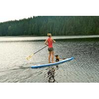 China Delux Inflatable SUP Board High Pressure Double Wall Drop Stitch Material wholesale