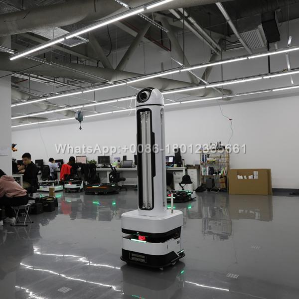 Quality Disinfectant Spray Kill Coronavirus Pathogens UV Light Robot for sale