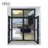 China Double Glazing Glass Aluminum Casement Windows For Commercial Office Building wholesale
