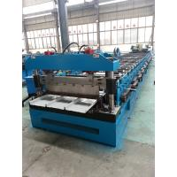 China Color sheet steel Kliplock roll forming machine for manufacture wholesale