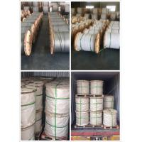 3/8' 7 strands hot dipped galvanized steel wire as per ASTM A 475 EHS
