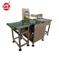 China Conveyor Belt Weight Checking Machine With Reject Arm / Air Blast / Pneumatic Pusher wholesale