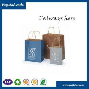 China Fashion style kraft brown paper bag,food kraft paper bag,die cut handle paper bag wholesale
