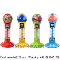 China Tabletop Desktop Mini Coin Operated Gumball Capsule Toy Vending Machine wholesale