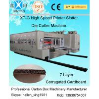 China High Speed Alloy Steel Semi Automatic Die Cutting Machine for Carton Packaging on sale