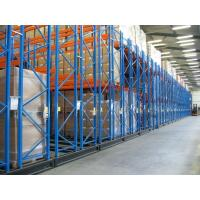 China Customized Size Movable Racking Systems Weight Capacity 500-4000KG / Level wholesale