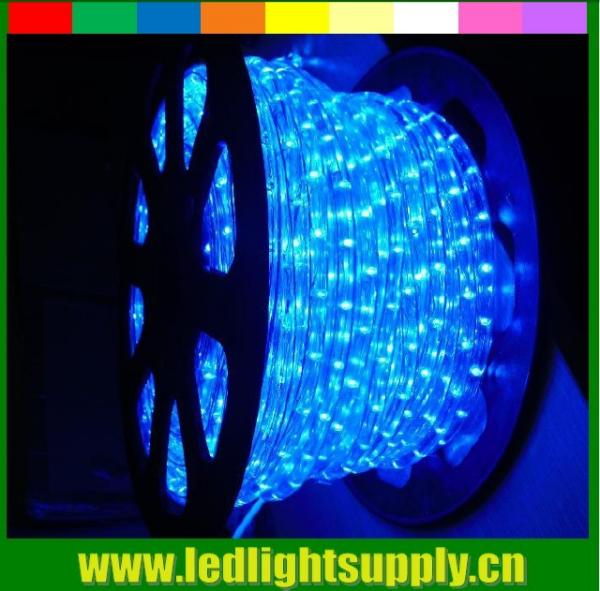 Quality 2 wire rope light spools blue ultra thin led christmas lights for sale