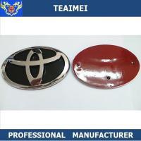 Chrome Front Hood Grill Badge Custom Car Emblems For Toyota Corolla 2006-2010