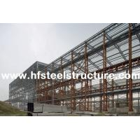 China Custom Structural Industrial Steel Buildings For Workshop, Warehouse And Storage wholesale