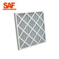 China Ventilation System Pre Air Filter Paper Cardboard Frame G Series Folding Panel wholesale