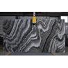 China River Wave Spray Black & White Natural Marble Tile Slab For Interior Design wholesale