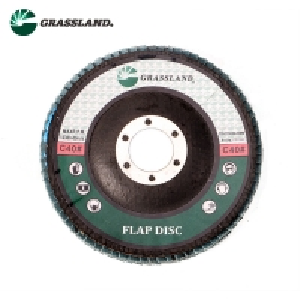 China 115X22mm Aluminium Oxide 60 Grit Angle Grinder Flap Disc wholesale