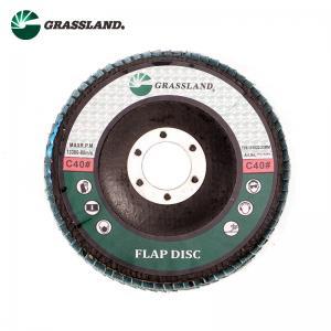"China Marble Granite 115mm 4 1/2"" Abrasive Silicon Carbide Flap Wheel wholesale"