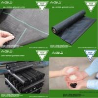 China Factory supply 2017 black woven geotextile weed control mat for greenhouse floors /container nurseries on sale