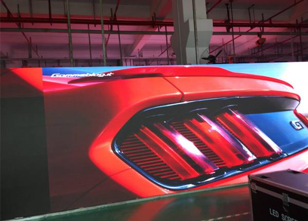 Quality Clear Replacement Indoor Rental Led Display Advertising / Led Tv Background Wall for sale