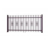 China Metal Ornaments Prefabricated Metal Fence Panels For Garden Decoration wholesale