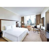 China Unique Hotel Guest Room Furniture / White Contemporary Bedroom Furniture wholesale