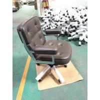 China CEO / Boss Luxury Executive Office Chair With Thick Padded Armrest SGS Certified on sale
