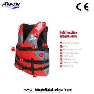 China Adult / Children EPE Foam YAMAHA Life Jacket , Safety Youth Xl Life Jacket wholesale