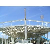 China Structural Steel Hanger Construction Company For Aircraft Parking Apron And Steel Buildings