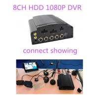 China 4G GPS WIFI AHD Hybrid HDD Mobile DVR 8CH 1080P 720P For Truck School Bus Lorry Taxi wholesale