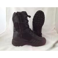 China USA marine corps military police BATES classic style side zipper tactical boots wholesale