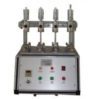 China Stable Rubber Testing Machine , Rubber / Leather Fabric Color Shedding Level Tester on sale