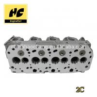 China Engine cylinder head used for 2C/2C-TE 11101 64122 / 64080 wholesale