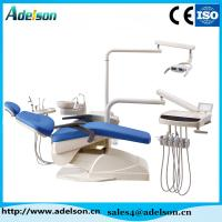 China Dental chair with Luxurious halogen lamp of Foshan Adelson Medical Co.,Ltd on sale