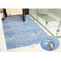 China Colorful Plastic Waterproof Pad Anti Skid Bathroom Mats Support Custom wholesale